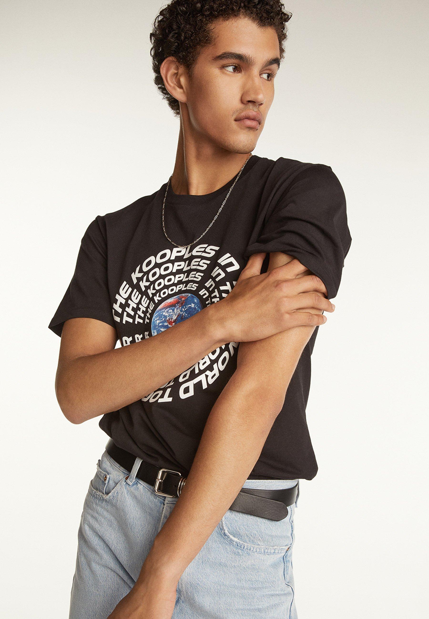Homme À MOTIF PLANÈTE - T-shirt imprimé