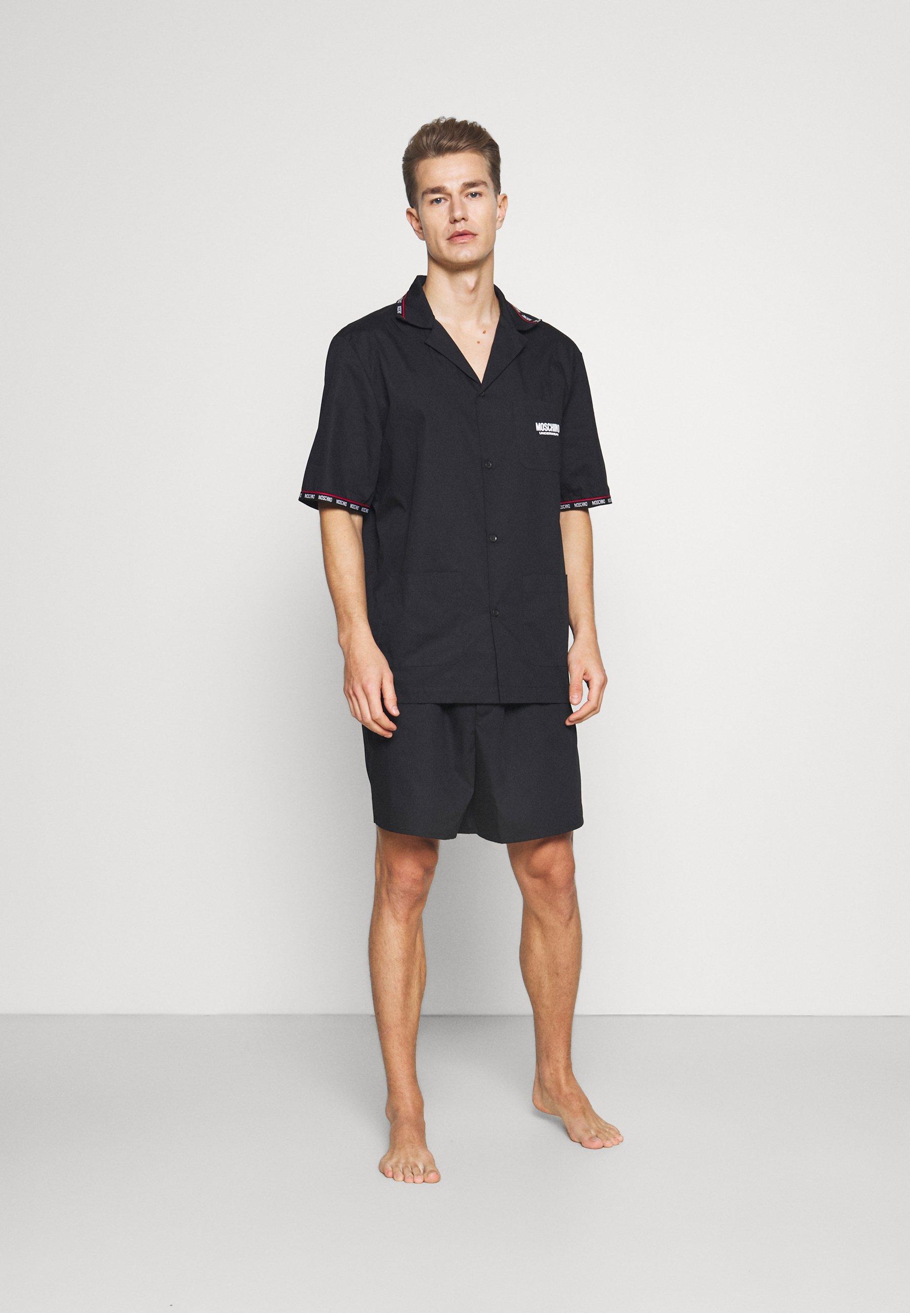 Herren SHORT BUTTON UP - Pyjama