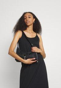 Vila - VIDREAMERS SINGLET - Maxi dress - black - 3