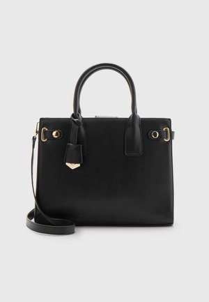 BELLA STRUCTURED TOTE - Handbag - black