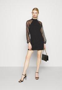 Pieces - PCNALLY DRESS - Cocktail dress / Party dress - black - 1
