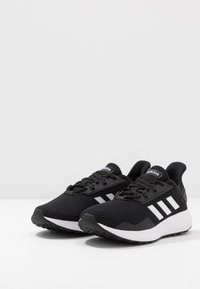 adidas Performance - DURAMO 9  - Neutral running shoes - core black/footwear white - 3