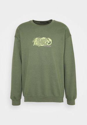 RESPECT THE CULTURE - Bluza - dark green