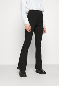Vila - VIPAULA PANTS - Leggings - black - 0