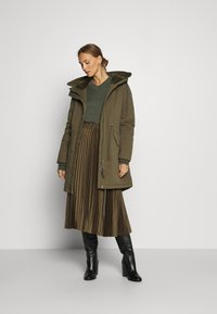 Marc O'Polo DENIM - CASUAL WASHED  - Winter coat - utility olive - 0