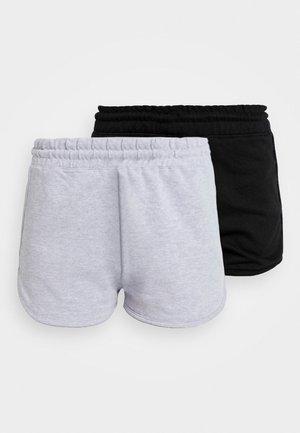 RUNNER 2 PACK - Pantalon de survêtement - black/grey