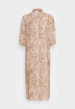 DRESS WITH LEO PRINT - Blousejurk - beige