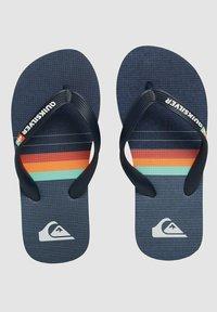 Quiksilver - Pool shoes - blue/blue/blue - 3
