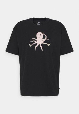 TEE SCOTT UNISEX - Print T-shirt - black