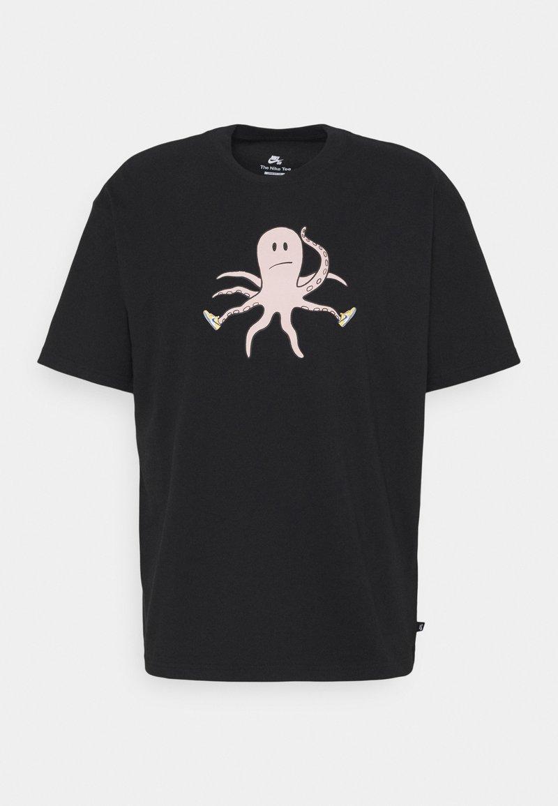 Nike SB - TEE SCOTT UNISEX - Print T-shirt - black
