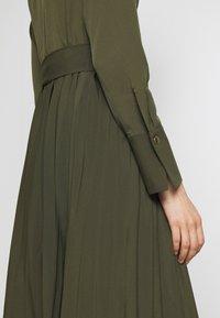 Sisley - DRESS - Vestito estivo - khaki - 6
