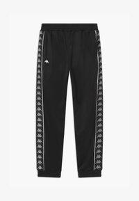 Kappa - HELGE - Pantalones deportivos - caviar - 0