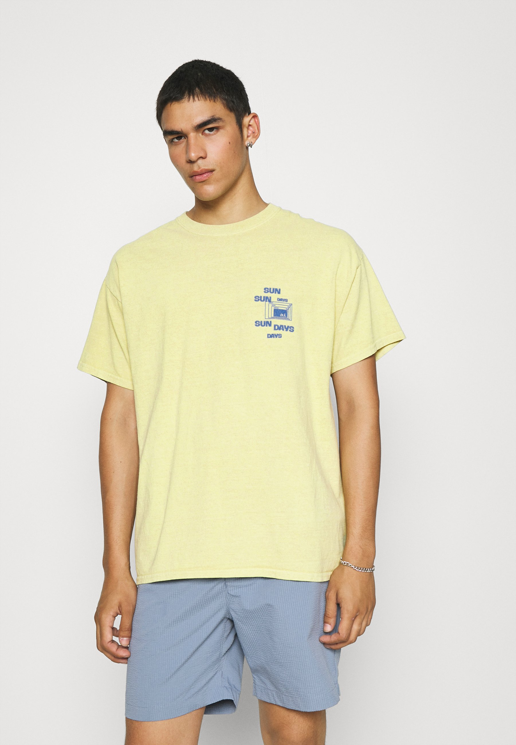 Homme SUNDAY TEE UNISEX - T-shirt imprimé