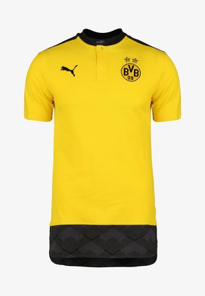 Polo shirt - cyber yellow