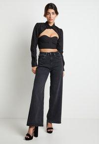 Pepe Jeans - DUA LIPA X PEPE JEANS - Overhemdblouse - black - 1