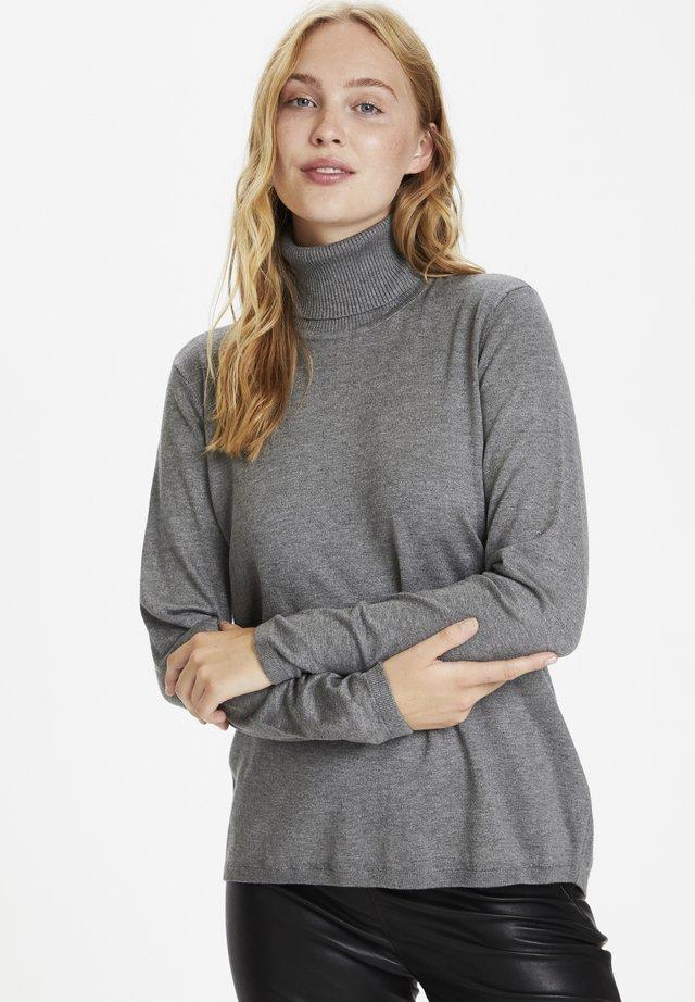 Jersey de punto - mid grey melange