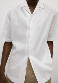 Mango - BOWLING - Skjorta - white - 5
