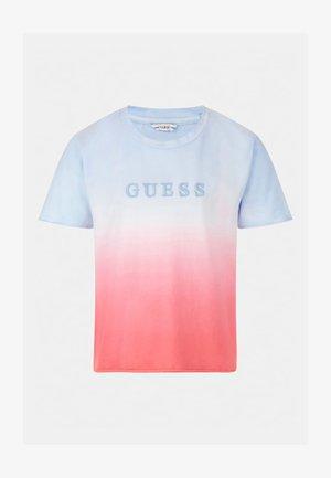 T-shirt imprimé - gemustert multicolor
