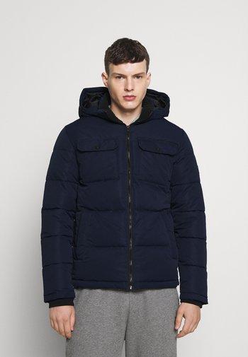 JJRONALD PUFFER - Winter jacket - navy blazer