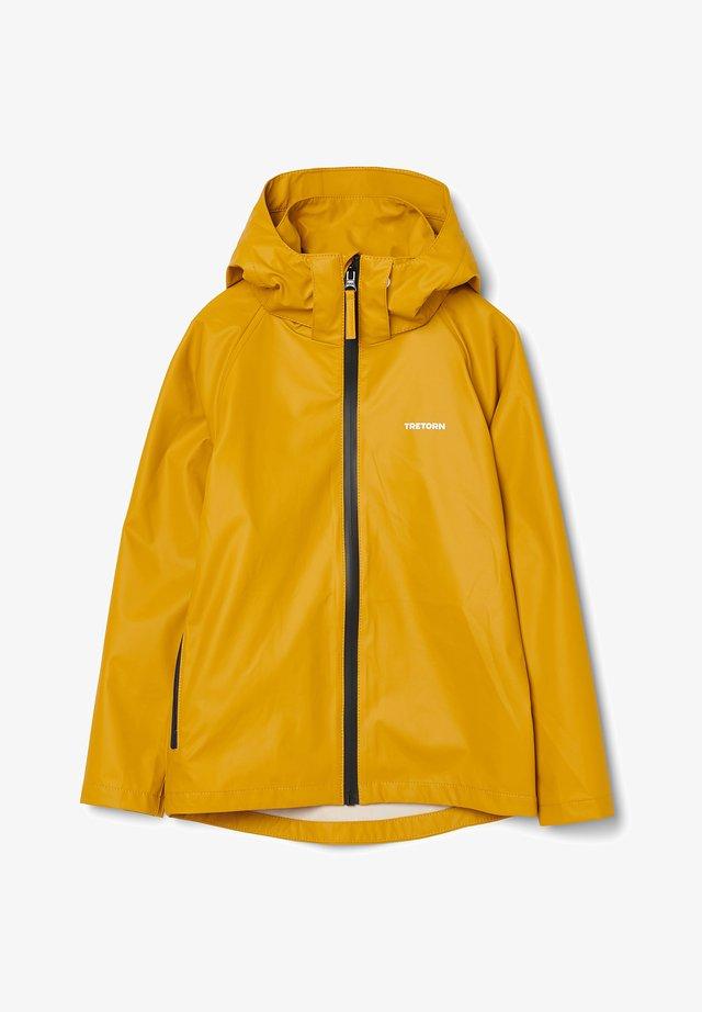 Waterproof jacket - harvest