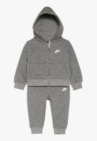 Nike Sportswear - PANT BABY SET - Tracksuit - carbon heather - 0