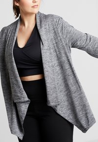 Nike Performance - YOGA PLUS - Chaqueta de entrenamiento - black/heather/anthracite - 4