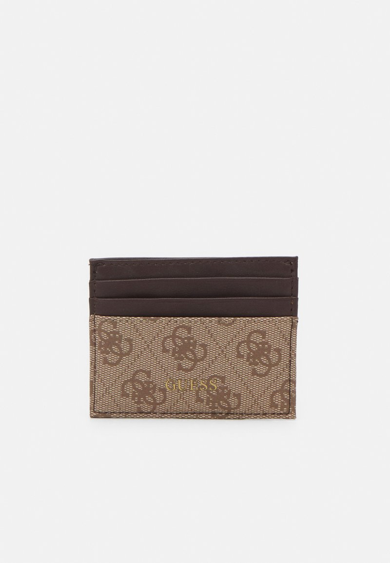 Guess - VEZZOLA CARD CASE UNISEX - Wallet - brown