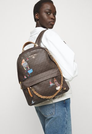 SLATER BACKPACK - Batoh - brown/multi