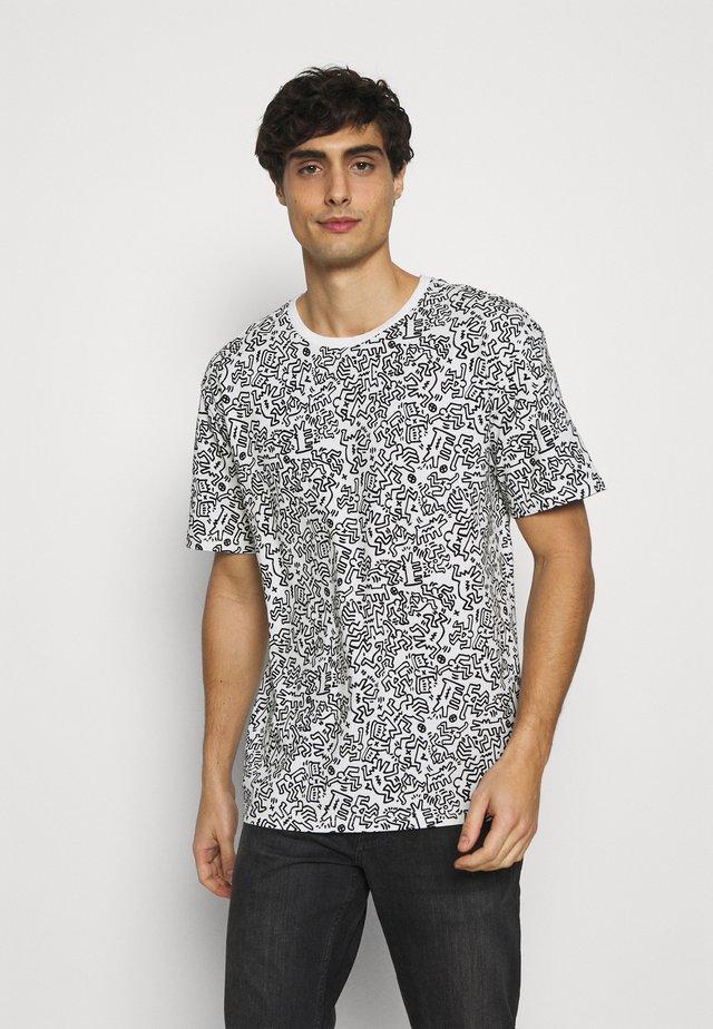 ARTIST - T-shirt print - white