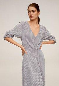 Mango - ZAFIRO-A - Maxi dress - silber - 2