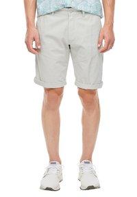s.Oliver - Shorts - light grey - 4