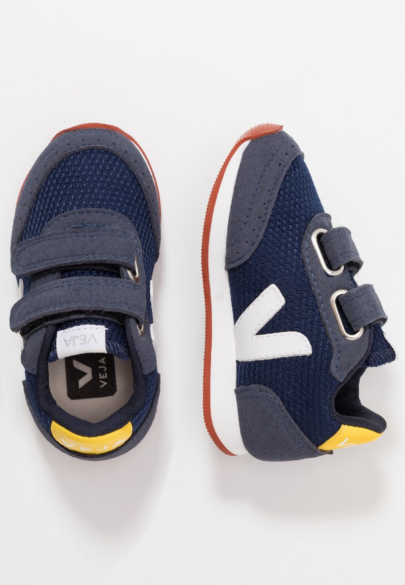 Veja - SMALL NEW ARCADE - Trainers - nautico/white/gold yellow