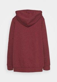 adidas Performance - Zip-up hoodie - legred/white - 1