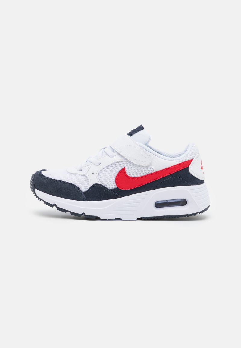 Nike Sportswear - AIR MAX SC UNISEX - Sneakers laag - white/univeristy red/obsidian