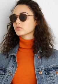 A.Kjærbede - HELLO - Sunglasses - matt brown - 1