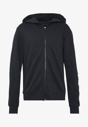 ONSORGANIC REG  ZIP HOODIE  - Mikina na zip - black