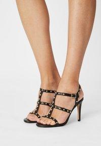Cosmoparis - HILENIA - High heeled sandals - noir - 0