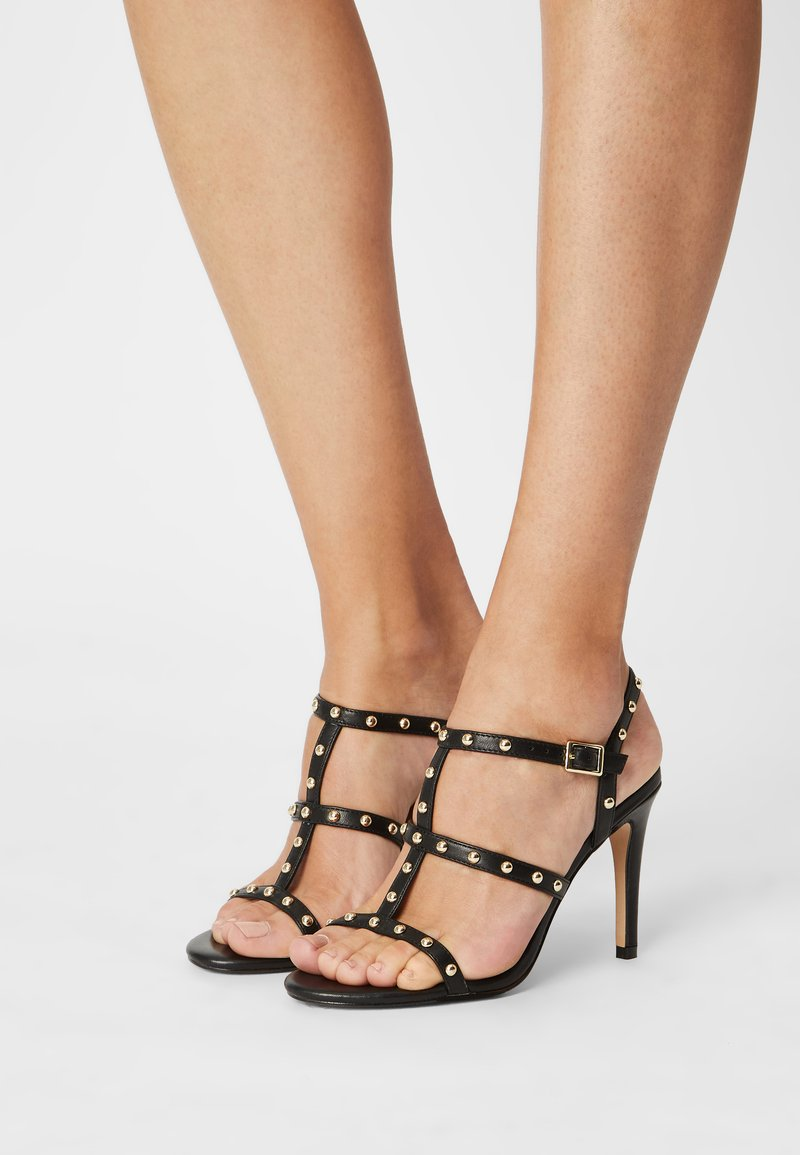 Cosmoparis - HILENIA - High heeled sandals - noir