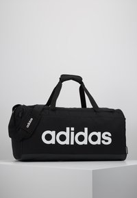 adidas Performance - LIN DUFFLE M - Sports bag - black/white - 0