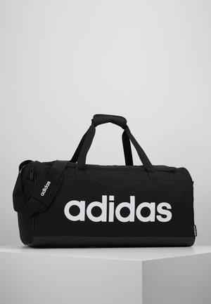 LIN DUFFLE M - Sporttas - black/white