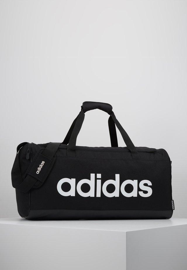 LIN DUFFLE M - Sporttasche - black/white