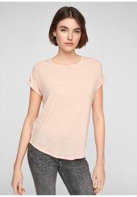 Q/S designed by - Basic T-shirt - spring rose - 0