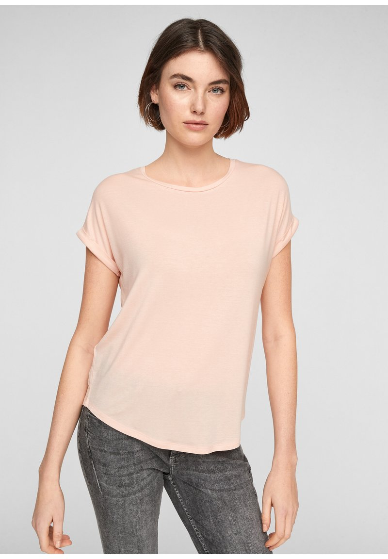 Q/S designed by - Basic T-shirt - spring rose
