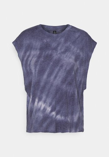 LIFESTYLE SLOUCHY MUSCLE - T-shirt basic - periwinkle