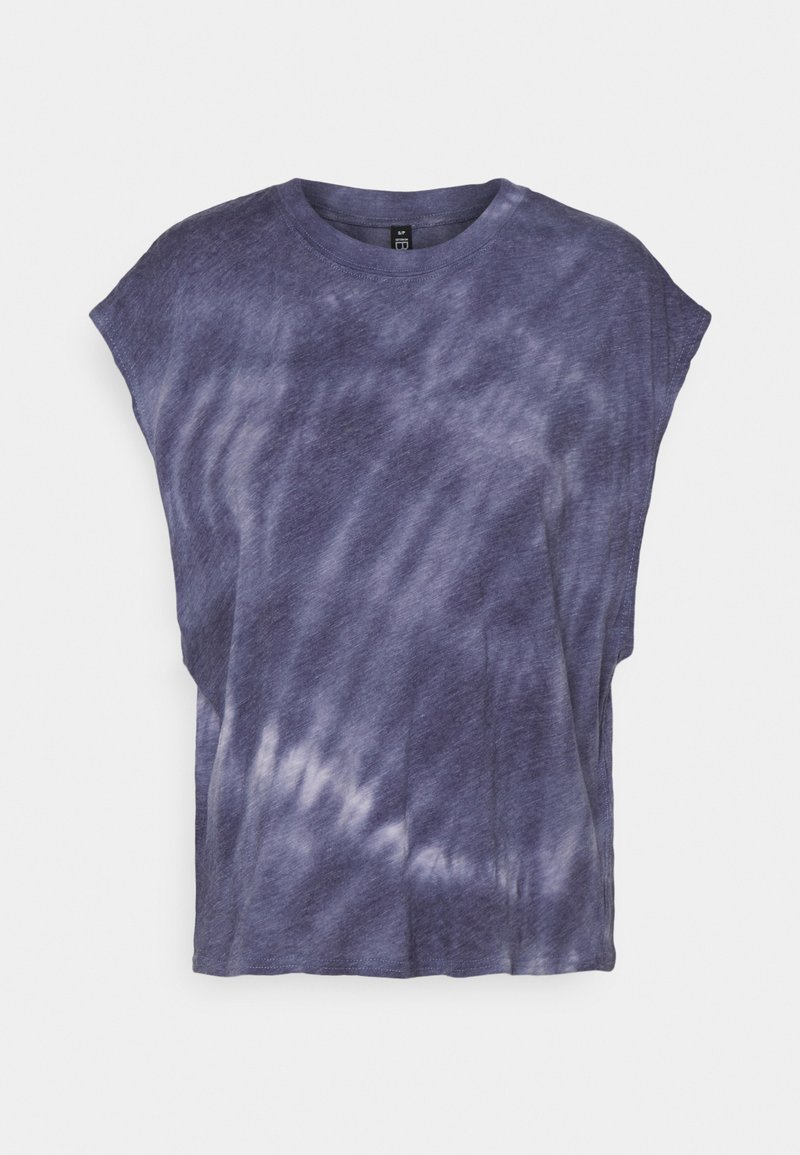 Cotton On Body - LIFESTYLE SLOUCHY MUSCLE - Basic T-shirt - periwinkle