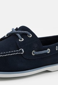 Timberland - CLASSIC BOAT 2 EYE - Boat shoes - navy - 5
