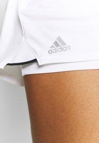 adidas Performance - CLUB SKIRT - Sportovní sukně - white/black - 4
