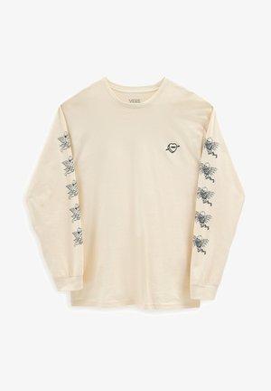 MN LOVE HATE LS - Long sleeved top - seedpearl