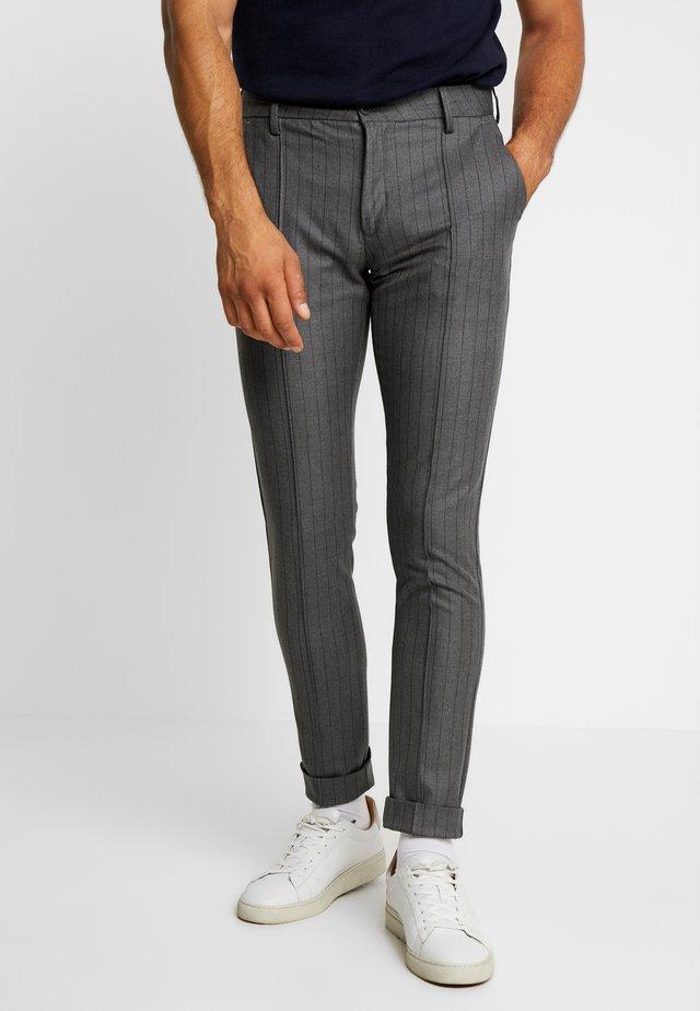 Pantalon classique - pewter