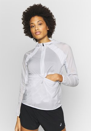 QUALIFIER WEIGHTLESS PACKABLE JACKET - Chaqueta de deporte - halo gray/reflective